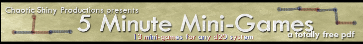 5 Minute Mini-Games